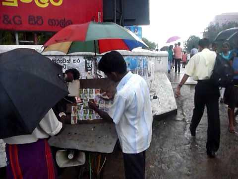 Sri Lanka,ශ්රී ලංකා,Ceylon,Galle,Lottery ticket seller