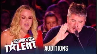 Simon Cowell Storms Off After Heated Argument With Amanda!   Britain's Got Talent 2019