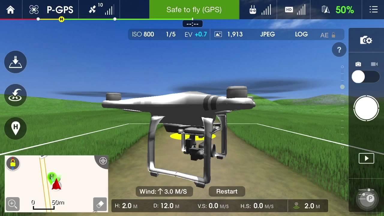 dji go flight simulator youtube