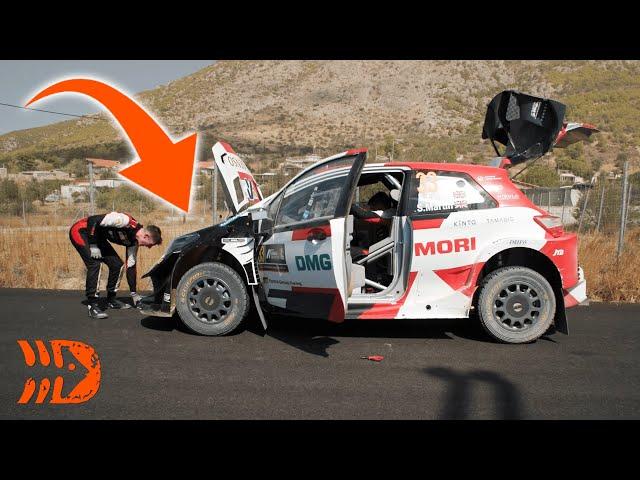 DRAMA STRIKES for Evans - Acropolis Rally Greece 2021