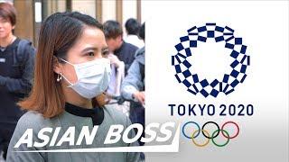 Japanese React To The Tokyo 2020 Olympics Postponement | ASIAN BOSS