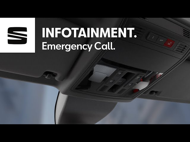 SEAT has you covered for any inconvenience with the E-call service –  SEAT Ibiza, Arona| SEAT