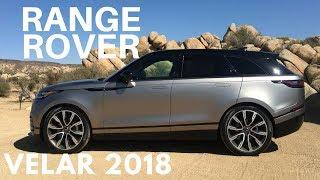 Test Drive Range Rover Velar 2018 en Palm Springs, California