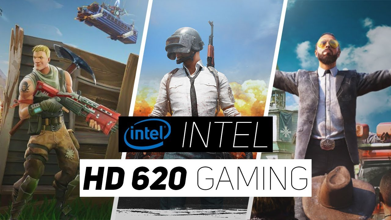 carte graphique intel® hd 620 Intel HD 620 Gaming Performance 2018!   YouTube