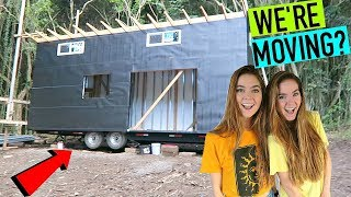 Moving Into A Tiny House? (HAWAII VLOG) - Nina and Randa