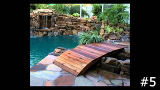 Top 10 Natural Stone And Wooden Bridges By Lucas Lagoons