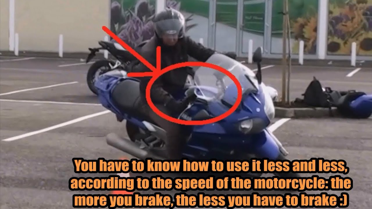 how to make au turn on a motorcycle