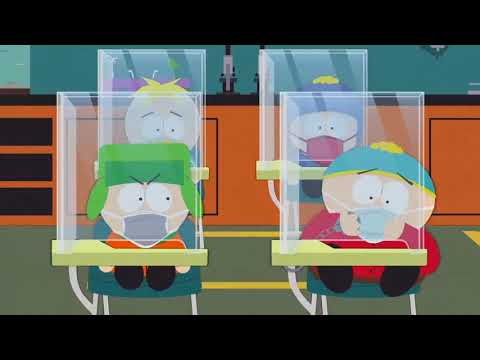 South Park Covid 19 - Cartman Back To School