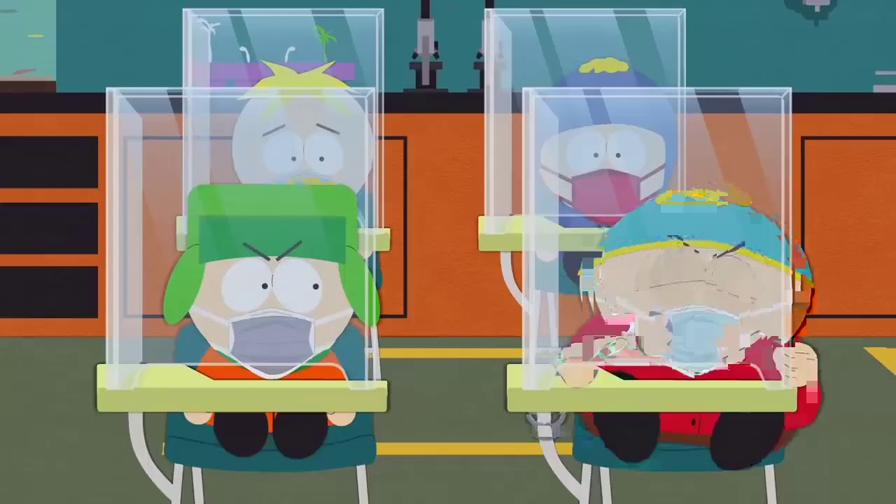Download South park Covid 19 - Cartman back to school