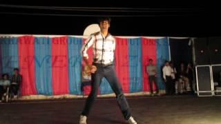 dance of shahid kapoor at aai pappi by aditya prajapat