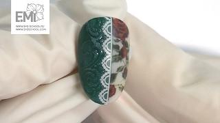 Мастер-класс слайдер-дизайн #Naildress. Розы на ногтях!