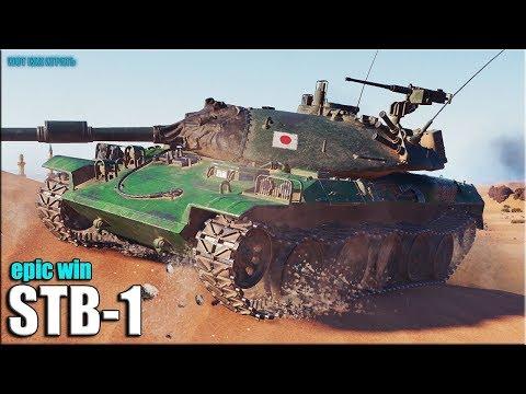 11к урона СКИЛЛОВИК на STB-1 ✅ World of Tanks лучший бой СТ 10 Япония
