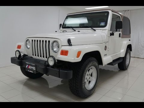 Tj Auto Sales >> 2001 Jeep Wrangler Sahara 4.0 4x4 - YouTube