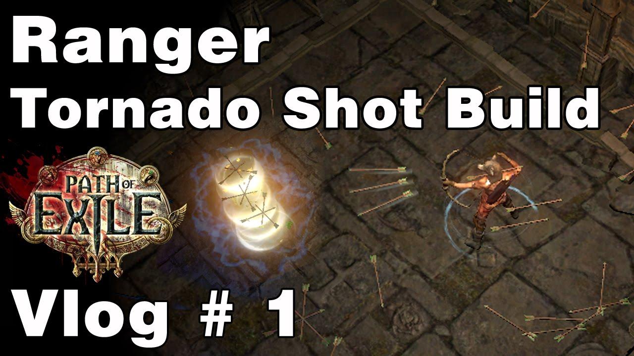 Path Of Exile Build  Ranger Tornado Shot