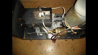 eBay smoke machine MELTED.