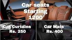 Cheapest Car Seat Cover Market | Car Curtains | Car Mats | kashmiri gate