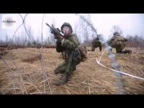US Marines Live Fire – Platoon Attacks in Latvia