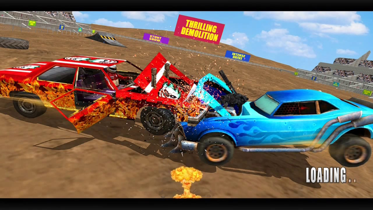 Demolition Derby Car Crash Arena Car Games Car Crash Games Car