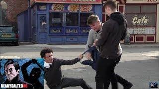 Video Coronation Street - Two Lads Grab Simon And Take His Bag download MP3, 3GP, MP4, WEBM, AVI, FLV September 2018