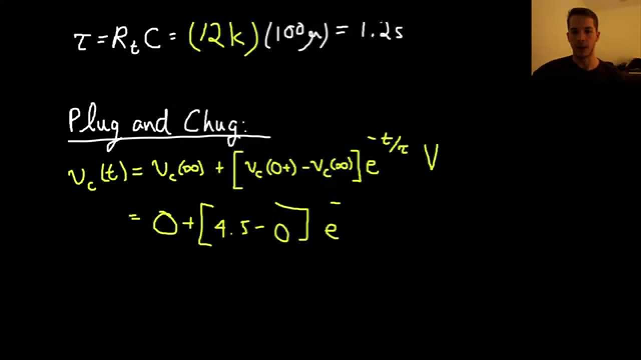 Step By Approach To Solving First Order Transient Circuits Circuit Tutorial 5 Youtube