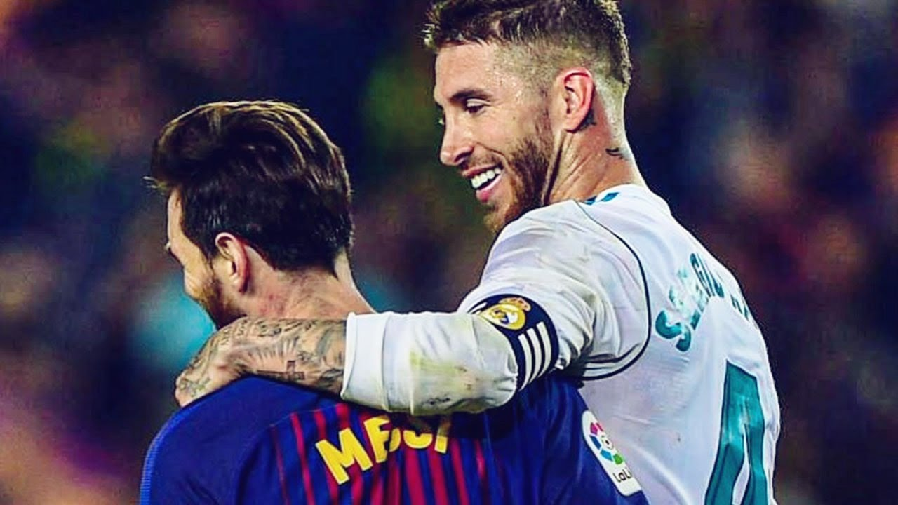 Sergio Ramos' unexpected homage to Lionel Messi   Oh My Goal