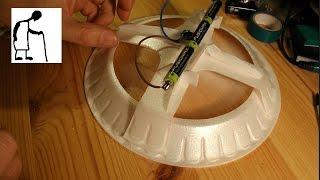 Bargain Store Project #28 Styrofoam Plate Hovercraft