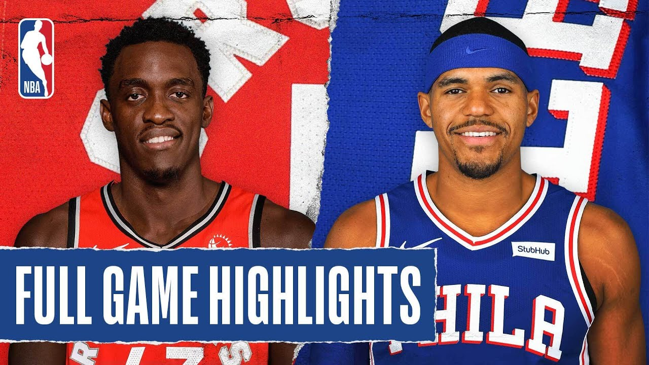 RAPTORS at 76ERS | FULL GAME HIGHLIGHTS | August 12, 2020