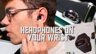 Wearbuds - Wireless Earbuds That Charge On Your Wrist from Aipower