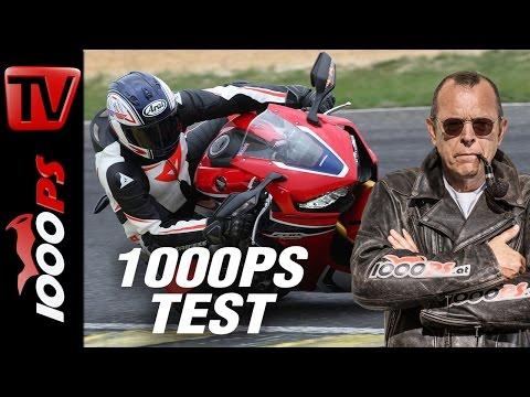 1000PS Test - Honda Fireblade SP 2017 - Erstes Abfeuern am Pannoniaring Foto