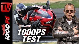 1000PS Test - Honda Fireblade SP 2017 - Erstes Abfeuern am Pannoniaring