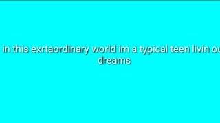 Ordinary Girl - Annie Leblanc (lyrics)