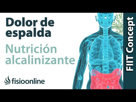 Nutricin alcalinizante y dolor de espalda, muscular y articular