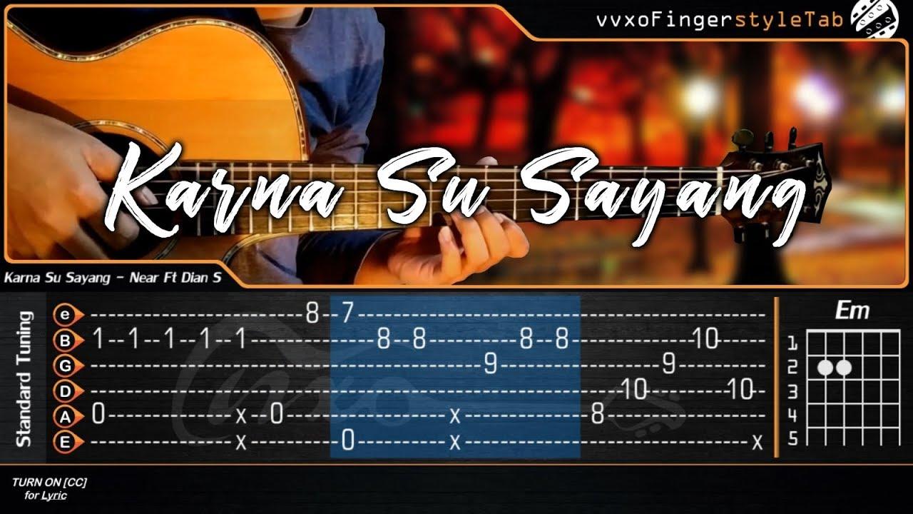 karna su sayang instrumen gitar mp3