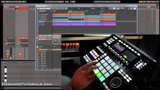 Maschine 2.3 Update Recording Scene Changes as MIDI in Ableton Live 9