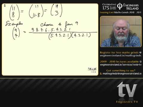 Probability - Leaving Certificate Maths Tutorial