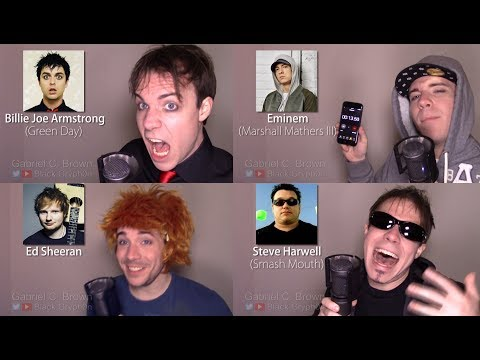 ONE GUY, 23 VOICES Tyler Joseph, Ed Sheeran, Freddie Mercury, Famous Singer Impressions