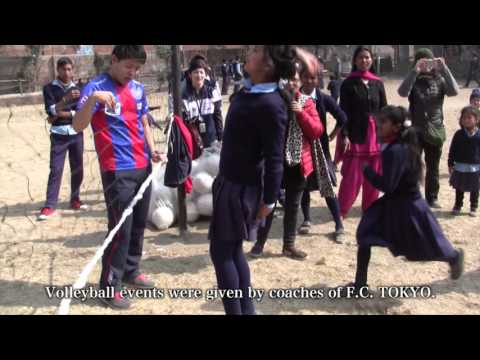 Sports × Disaster prevention education in Nepal