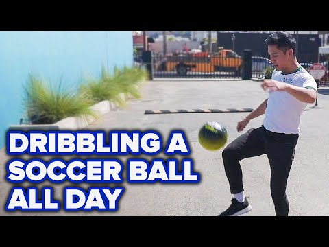 I Dribbled A Soccer Ball All Day