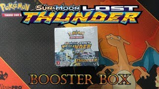 Opening A Pokemon Sun & Moon Lost Thunder Booster Box!