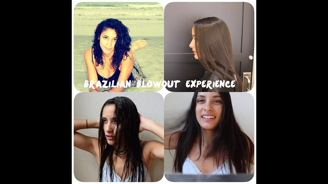 my brazilian blowout experience before during and after