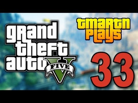 Grand Theft Auto 5 - Part 33 - James Bond Car (Let's Play / Walkthrough / Guide)