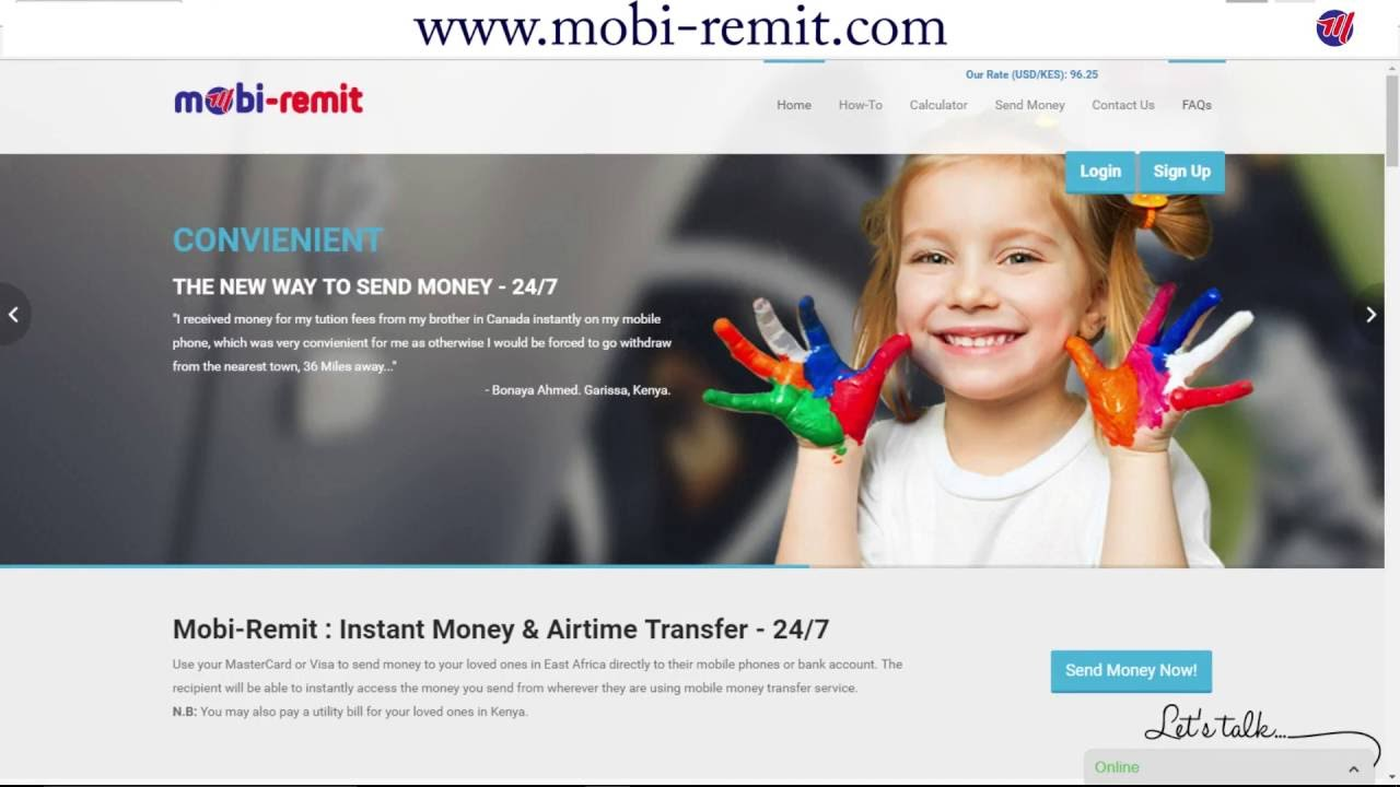 Mobi-Remit: How to Send Money Online to any Mobile or Bank account ...