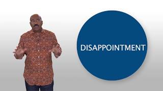 Handling Disappointment: Steve Harvey's Brain Drops