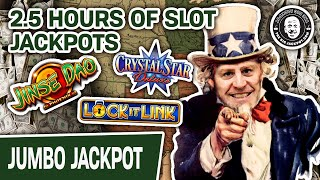 ⌚ 2.5 HOURS of SLOT JACKPOTS ⭐ CLASSIC Memorial Day Slots: Lock It Link + More!