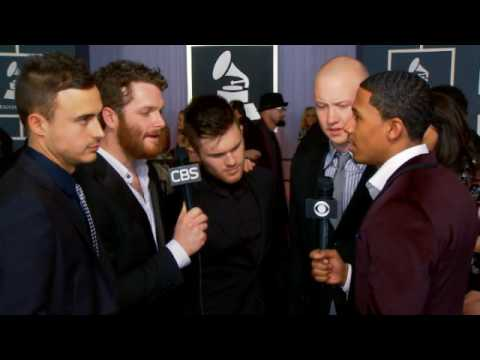 52nd Grammy Awards - The Fray Interview