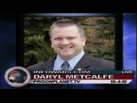 Alex Jones - Daryl Metcalfe - October 4 2010 - part 1/2