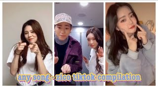 Download Mp3 Any Song Challenge - Zico Tiktok Compilation Pt.1