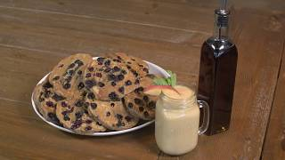 Recipe: Blueberry Oatmeal Pancakes and Summer Stone Fruit Smoothie - BJC Cooks!