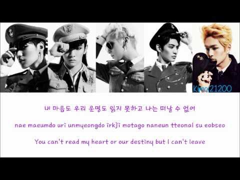 SHINee - Close The Door(닫아줘) [Hangul/Romanization/English] Color & Picture Coded HD