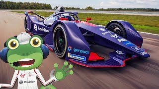 Racing Cars For Children | Formula E | Gecko's Real Vehicles | Vehicles For Children